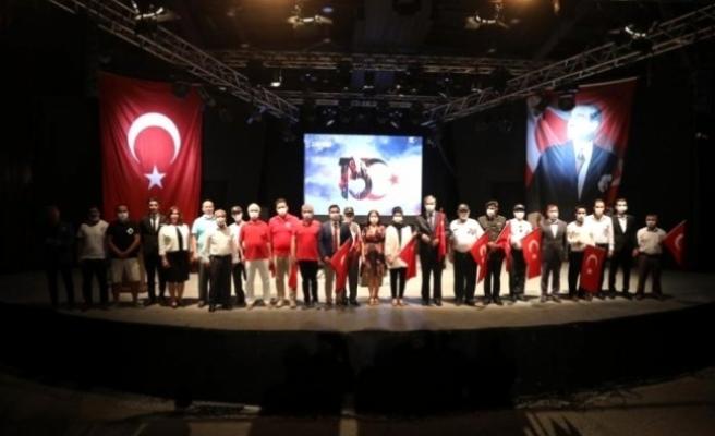 Bodrum'da 15 Temmuz Demokrasi ve Milli Birlik Günü Kutlamaları