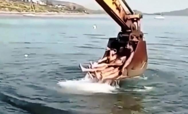 Bodrum'da Kkepçeli Deniz Keyfi