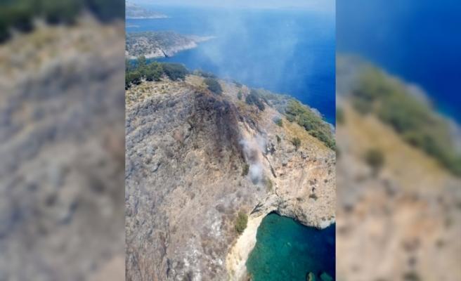 Dalaman'daki Orman Yangını Kontrol Altına Alındı
