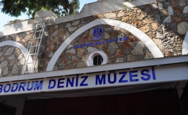 Deniz Kuvvetleri Komutanlığı'ndan Bodrum Deniz Müzesi'ne Bağış