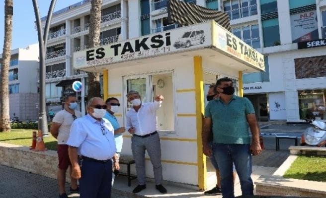 Marmaris Belediye Başkanı Oktay'dan Taksicilere Maske Uyarısı
