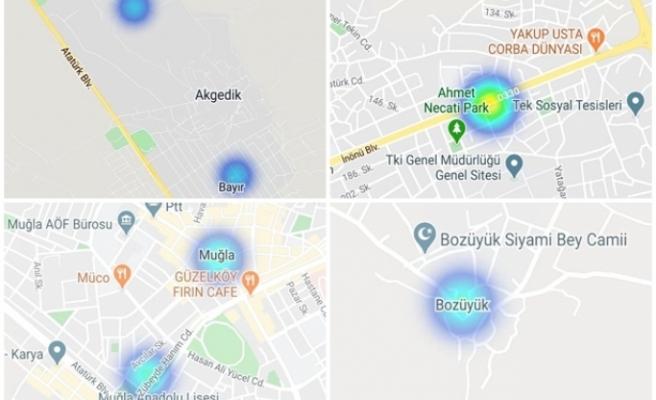 Menteşe'de Koronavirüs Riski Taşıyan Bölge Sayısı Düşerken Yatağan'da Orta Seviyeye Çıktı