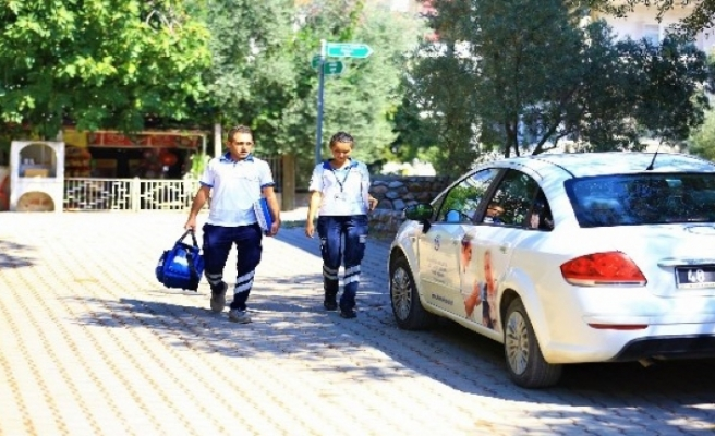 Muğla Büyükşehir 'Evde Bakımla' 165 Tıbbi Bakım Gerçekleştirdi
