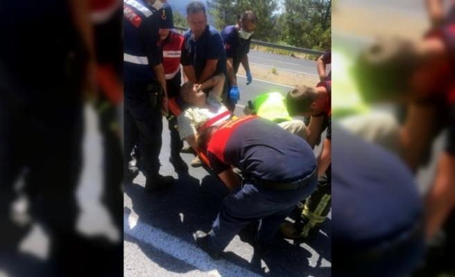 Muğla-Denizli Yolundaki Kazada Sürücü Hayatını Kaybetti!