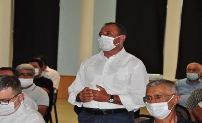 Pandemiden Dolayı Ertelenen Muhtarlar Toplantısı Gerçekleşti