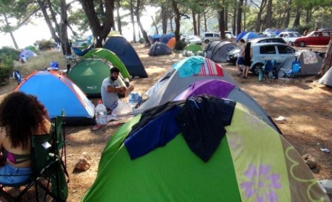Koronavirüs Salgınından Sonra Çadır Turizmine Rağbet Arttı