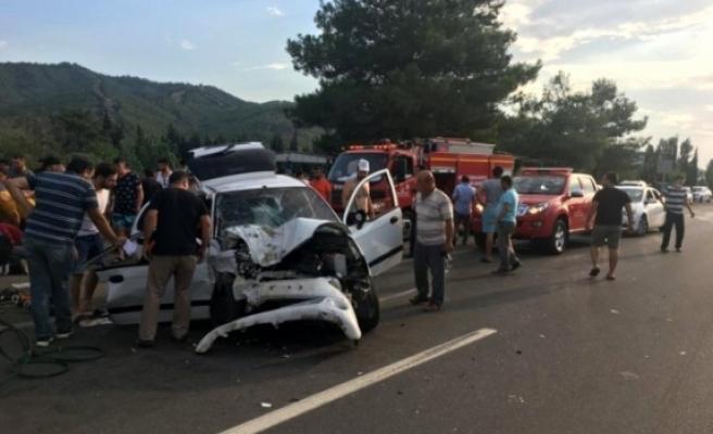 Muğla'da Trafik Kazası: 4 Yaralı