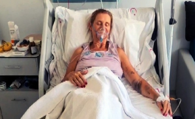 Bodrum'da Rahatsızlanan İngiliz Turist Ülkesine Götürüldü