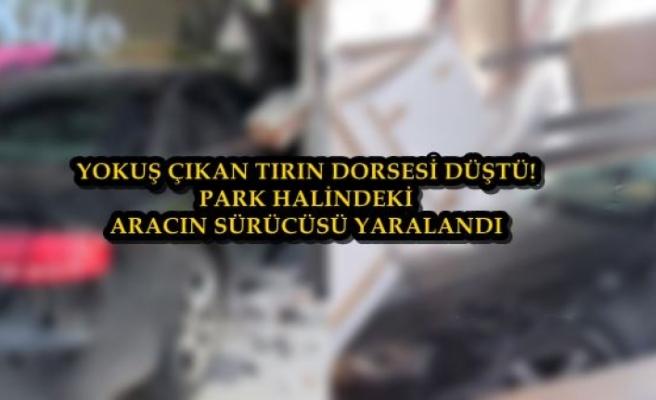 Bodrum'da Tırdan Ayrılan Dorse Otomobillere Çarptı: 1 Yaralı