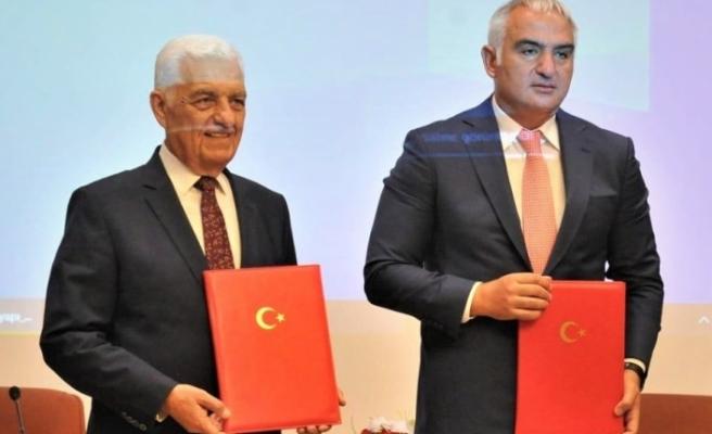 Bodrum'un Altyapısı için Ankara'da İmzalar Atıldı