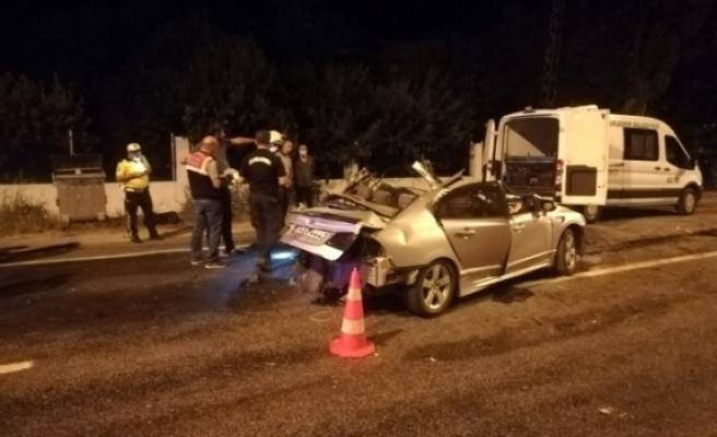 İzmir'de Korkunç Kaza: 2 Ölü 2 Yaralı!