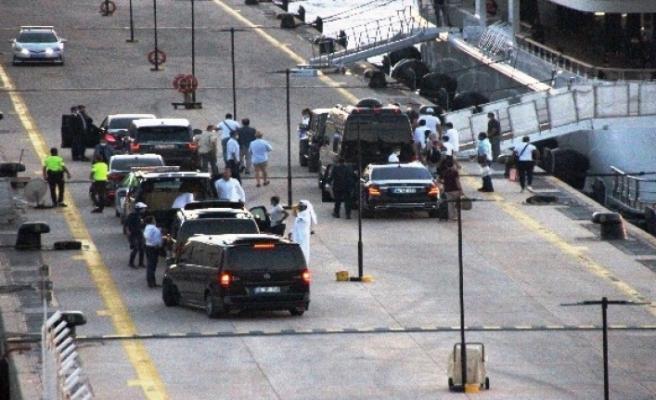 Katar Kraliyet Ailesi 2 Kamyon Eşya 500 Valizle Bodrum'da