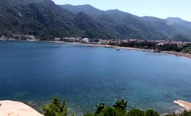 Marmaris Plajlarında Kovid-19 Denetimi Yapıldı