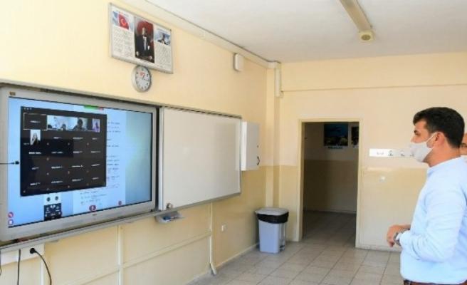 Milas'ta 72 Noktada EBA Destek Odaları Açıldı