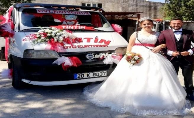 Muğla'nın En 'Çekici' Gelin Arabası