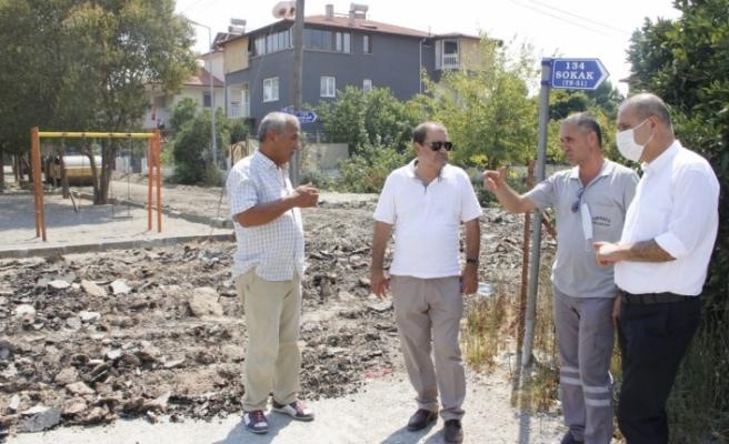 Ortaca Belediyesi Yol Çalışmalarına Aralıksız Devam Ediyor