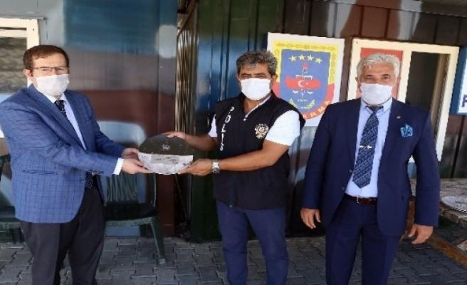 Yatağan'da Başarılı Polisler Ödüllendirildi