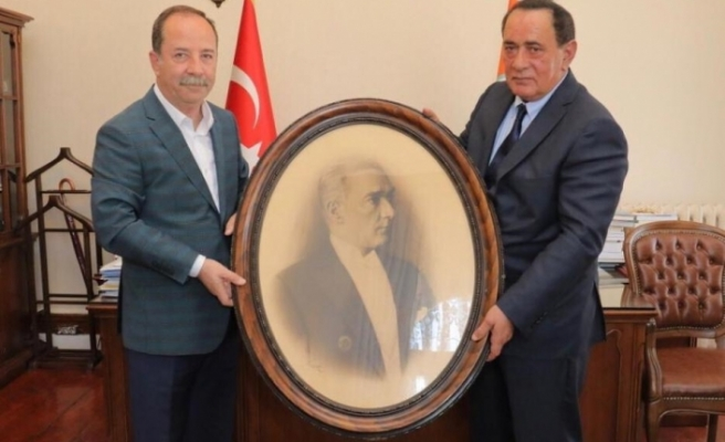 ALAATTİN ÇAKICI'DAN EDİRNE BELEDİYE BAŞKANI'NA ZİYARET