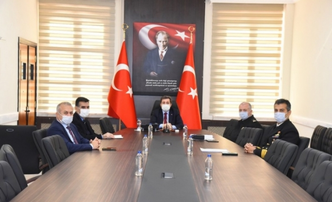 Vali Orhan Tavlı Başkanlığında Güvenlik ve Asayiş Toplantısı Yapıldı