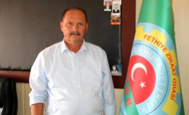 Fethiye Ziraat Odası Başkanı Karayiğit'ten Tarım Sigortası Uyarısı
