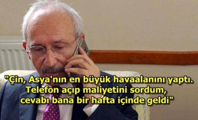 Kılıçdaroğlu, İktidara Bu Kez Çin Üzerinden Yüklendi!