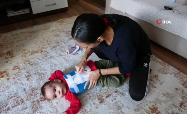 Marmarisli Ayaz Bebeğin SMA Tedavisi İçin Kampanya Başlatıldı
