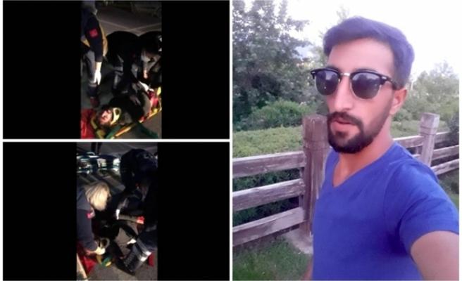 Bodrum'da Hafif Ticari Aracın Çarptığı Yaya Ağır Yaralandı