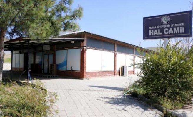 Fethiye'de, Karaçulha Toptancı Hali'ndeki Lokanta Camiye Dönüştürüldü
