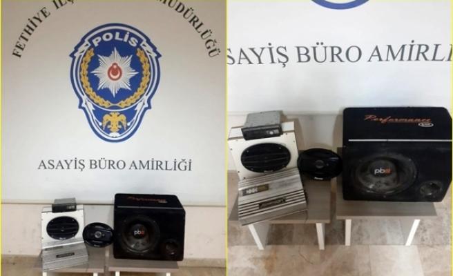 Fethiye'de Otomobilden Hırsızlık Yaptığı Tespit Edilen 2 Kişi Tutuklandı