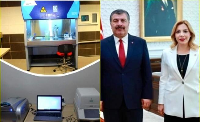 AK Partili Gökcan'dan, Marmaris'e PCR Cihazı Müjdesi