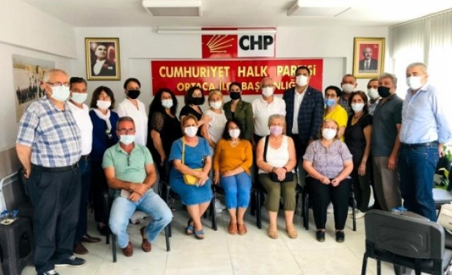 CHP Heyeti, Ortaca'da Partililerle Buluştu