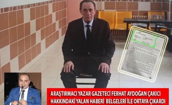 Ferhat Aydoğan Belgeleriyle Yazdı! ''Çakıcı'ya Kurdukları Tezgâh Mahkeme Kararları İle Ortaya Çıktı''