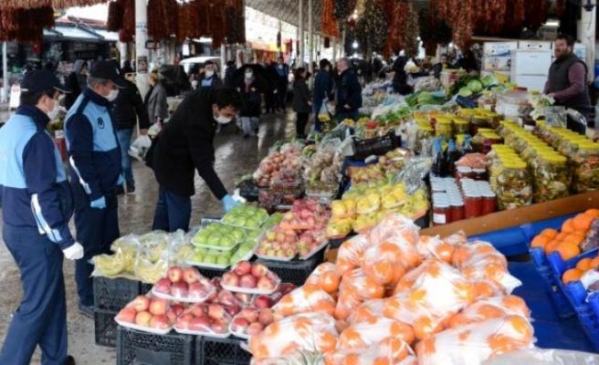 Menteşe'de Halk Pazarı Cumartesi Günleri Açık Olacak