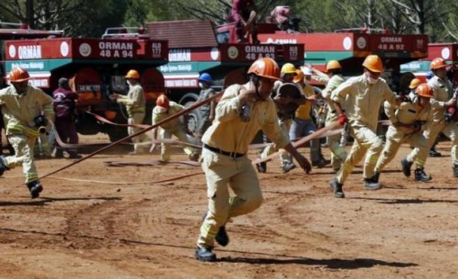 Muğla Orman Bölge Müdürlüğü'nün İşçi ve Teknik Personeli Yangın Sezonuna Hazır