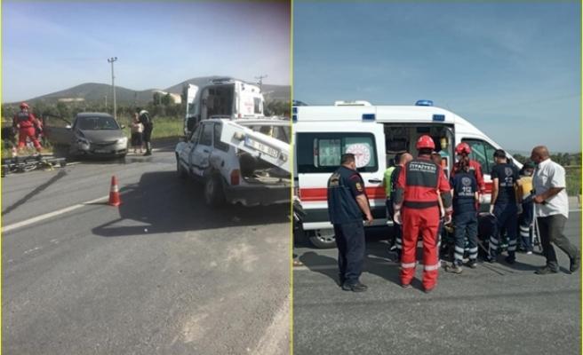 Yatağan'da Meydana Gelen Trafik Kazasında 2 Kişi Yaralandı