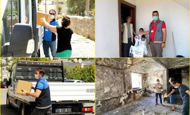 Bodrum Belediyesi Vatandaşın Yanında Olmaya Devam Ediyor
