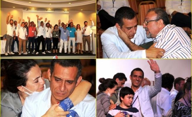 Bodrum Otelciler Derneği Başkanı Seçilen Ömer Faruk Dengiz Gözyaşlarını Tutamadı
