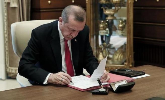 Cumhurbaşkanı Erdoğan'ın İmzasıyla Bazı Kurum ve Kişilerin Mal Varlıkları Donduruldu