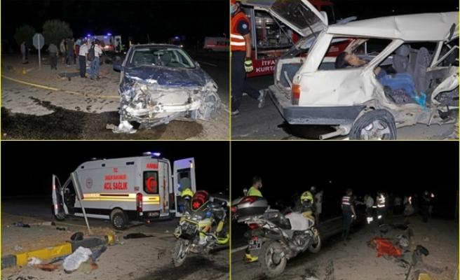 Fethiye'de Kanlı Kaza! İki Otomobil Çarpıştı: 3 Ölü, 5 Yaralı
