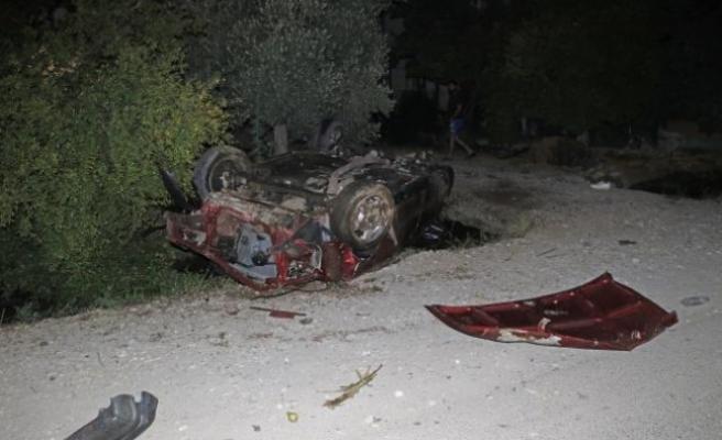 Fethiye'de Takla Atan Otomobilin Sürücüsü Öldü