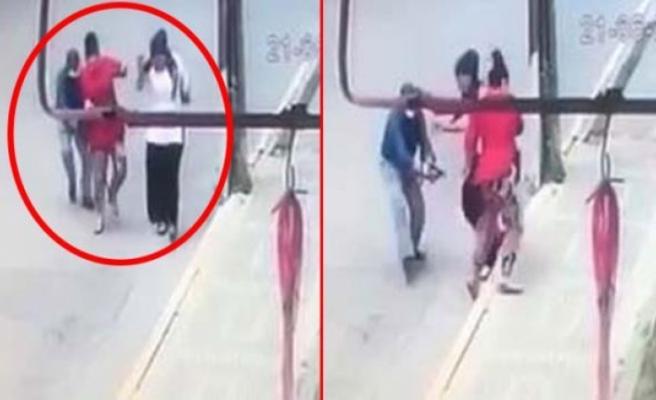 İstanbul'un Göbeğinde Ayrıldığı Eşine Kurşun Yağdırdı
