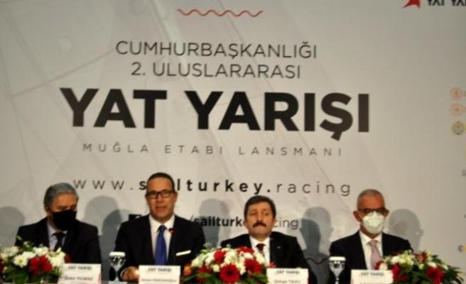 Marmaris'te, Cumhurbaşkanlığı 2. Yat Yarışları'nın Basın Toplantısı Yapıldı