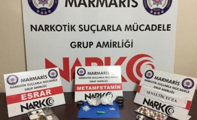 Marmaris'teki Uyuşturucu Operasyonunda 2 Zanlı Yakalandı