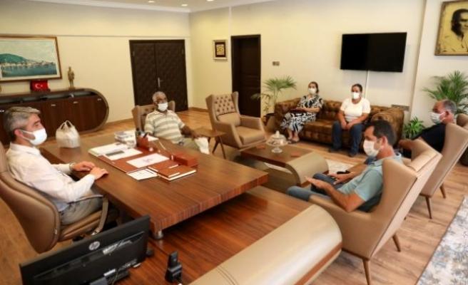 Marmarisli Üreticiler, Başkan Oktay'la Görüştü