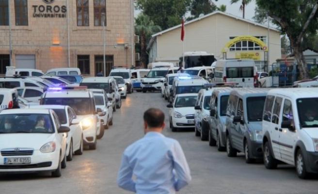 Mersin Merkezli Muğla Dahil 14 İlde Organize Suç Örgütü Operasyonu: 110 Gözaltı Kararı