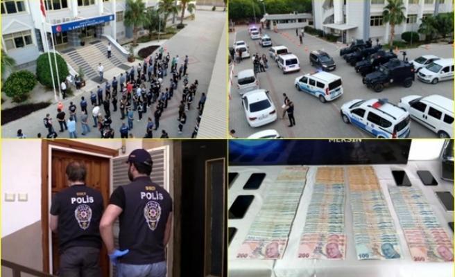 Mersin Merkezli Muğla Dahil 18 İlde Yasa Dışı Bahis Operasyonu: 86 Gözaltı