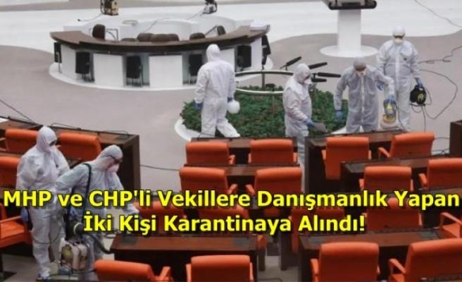 Türkiye Büyük Millet Meclisi'nde Delta Varyantı Paniği!