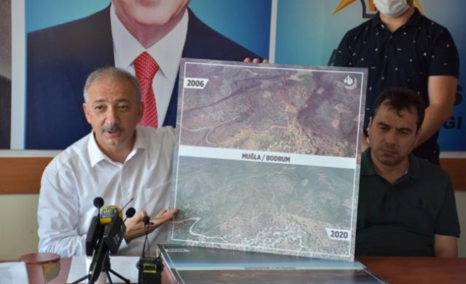AK Parti Muğla İl Başkanı Kadem Mete, Orman Yangınlarıyla İlgili Konuştu