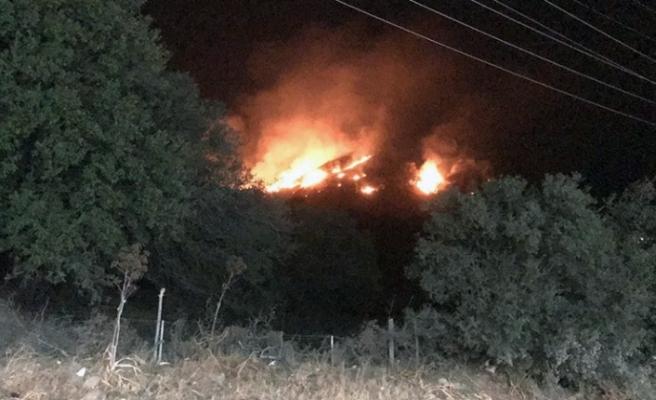 Bodrum'da Çıkan Yangın 2,5 Saat Sonra Kontrol Altına Alındı