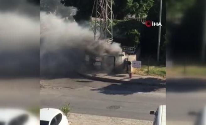 Bodrum'daki Trafo Yangını Korkuttu